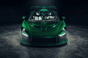 Bilder McLaren Grün Vorne 2018 Senna MSO Fux Green auto