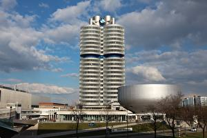 Pictures Munich Germany Museums Bmw Museum Cities