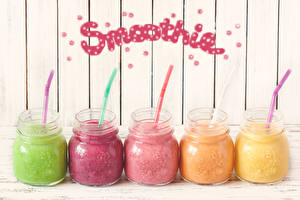 Wallpapers Smoothy Jar Multicolor English Word - Lettering