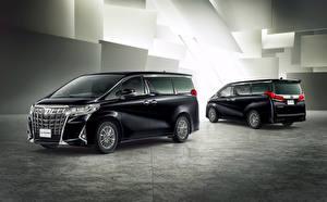 Fotos Toyota Ein Van Zwei Schwarz 2018-19 Alphard Executive Lounge