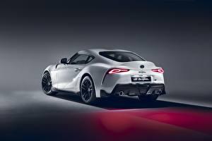 Bilder Toyota Hinten Weiß 2020 GR Supra A90 2.0L auto