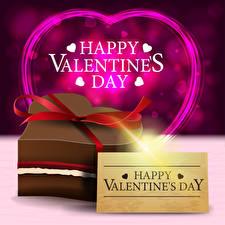 Bilder Vektorgrafik Valentinstag Englische Text Geschenke Herz Schleife
