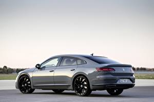 Wallpaper Volkswagen Side Gray Metallic 2020, Arteon, 4Motion, R-Line Edition automobile