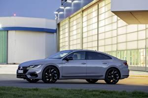Bilder Volkswagen Seitlich Metallisch 2020, Arteon, 4Motion, R-Line Edition