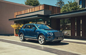 Picture Bentley Hybrid vehicle Blue 2018-20 Bentayga Hybrid Worldwide Cars