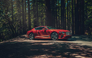 Images Bentley Red 2020 Continental GT V8