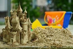Hintergrundbilder Burg Hautnah Sand
