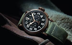 Bakgrunnsbilder Klokke Armbåndsur Nærbilde Zenith Pilot Type 20 Extra Special Chronograph
