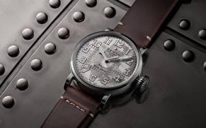 Wallpaper Clock Watch Zenith Pilot Type 20 Extra Special Silver