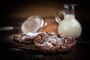 Picture Cookies Powdered sugar Bokeh