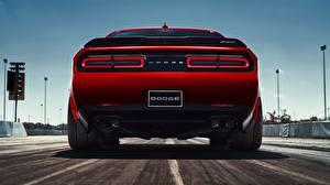 Fotos Dodge Hinten Rot 2018 Challenger SRT Demon