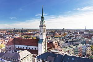 Bilder Haus Kirche München Deutschland Türme Bayern Frauenkirche Städte