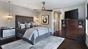 Image Interior Design Bedroom Bed Lamp