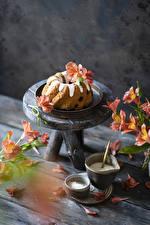 Bilder Keks Alstroemeria Bretter das Essen