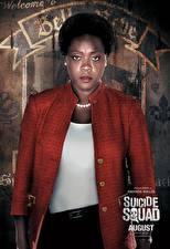 Hintergrundbilder Suicide Squad 2016 Neger Amanda Waller Film Mädchens