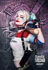 Fotos Suicide Squad 2016 Harley Quinn Held Margot Robbie Baseballschläger Harley Quinn Film Mädchens