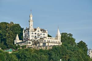 Bilder Schweiz Burg Hotel
