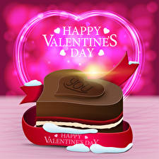 Hintergrundbilder Valentinstag Vektorgrafik Englischer Text Geschenke Herz