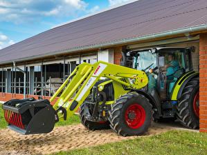 Bilder Landwirtschaftlichen Maschinen Radlader 2014-20 Claas Arion 420