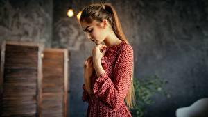 Hintergrundbilder Kleid Hand Braune Haare Aleksei Iurev
