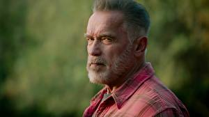 Bilder Arnold Schwarzenegger Alte Bärtiger Starren Kopf Terminator: Dark Fate Film Prominente