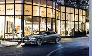 Image Audi Grey Metallic 2019-20 A6L 55 TFSI quattro S line auto