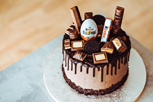 Picture Torte Confectionery Chocolate Kinder Surprise