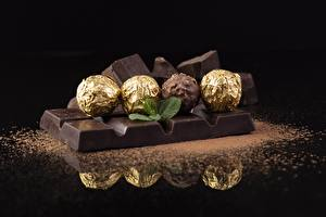Pictures Chocolate Chocolate bar Candy Balls Food