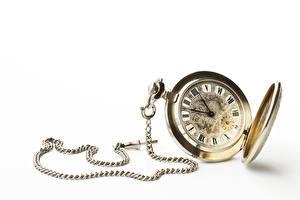 Sfondi desktop Orologio Quadrante orologio Orologio da polso Sfondo bianco Catena ad anelli