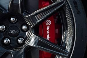Bilder Großansicht Ford Rad Karbon Disk, Mustang Shelby GT500 2019 Autos