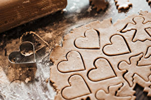 Fotos Kekse Engeln Herz Lebensmittel