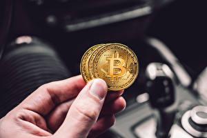 Hintergrundbilder Finger Münze Geld Bitcoin Hand Unscharfer Hintergrund