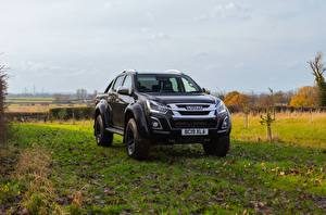 Fotos Isuzu Schwarz Metallisch Pick-up 2020, Arctic Trucks, D-Max, UK version, AT35 auto