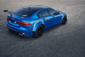 Fotos Jaguar Blau 2018 XE SV Project 8 auto