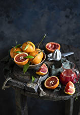 Wallpapers Juice Grapefruit Still-life Pitcher Food