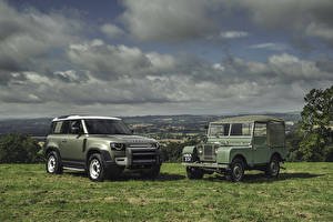 Fotos Land Rover Retro SUV 2 Land Rover Series I, Land Rover Defender automobil