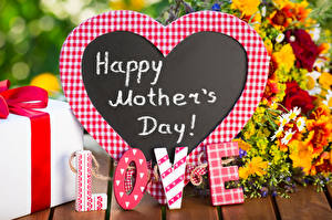 Images Mother's Day Love English Lettering Heart