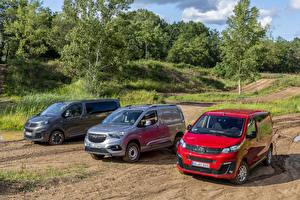 Fonds d'écran Opel MPV Trio Métallique Combo Cargo, Zafira Life, Vivaro