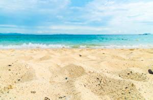 Fotos Meer Strände Sand