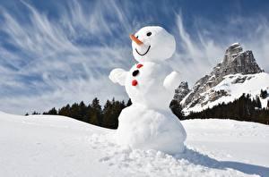 Images Snowman Snow