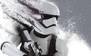 Fotos Star Wars  - Film Star Wars: Das Erwachen der Macht Krieger Klontruppen Soldat Stormtrooper