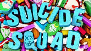Fotos & Bilder Suicide Squad 2016 Logo Emblem Wort Englisch Film
