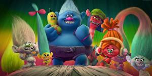 Desktop hintergrundbilder Troll (Mythologie) Trolls World Tour 2020 Zeichentrickfilm