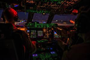 Fotos Cockpit USAF, C-5M Super Galaxy