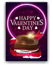 Bilder Valentinstag Vektorgrafik Englischer Text Herz Geschenke