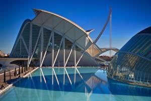 Hintergrundbilder Wasser Spanien Spiegelt