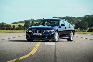 Image BMW Asphalt Blue Metallic 3-series, Alpina, 2010-20, G20, B3 Cars