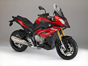 Hintergrundbilder BMW - Motorrad Seitlich Rot S 1000 XR 2015-16