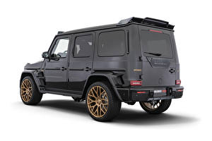 Images Brabus G-Wagen Mercedes-Benz White background Black G63, 800, W463, 2020 automobile