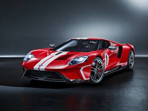 Fotos Ford Tuning Rot Strips GT, 2018, 67 Heritage Edition Autos